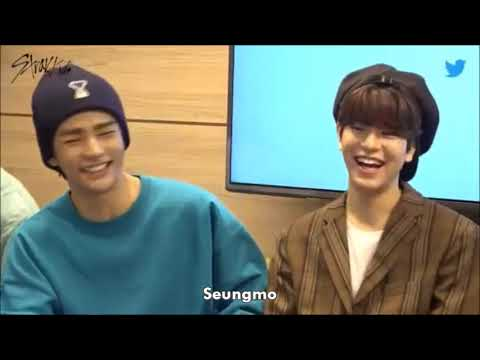 ENG Stray Kids discussing Stage names and English names