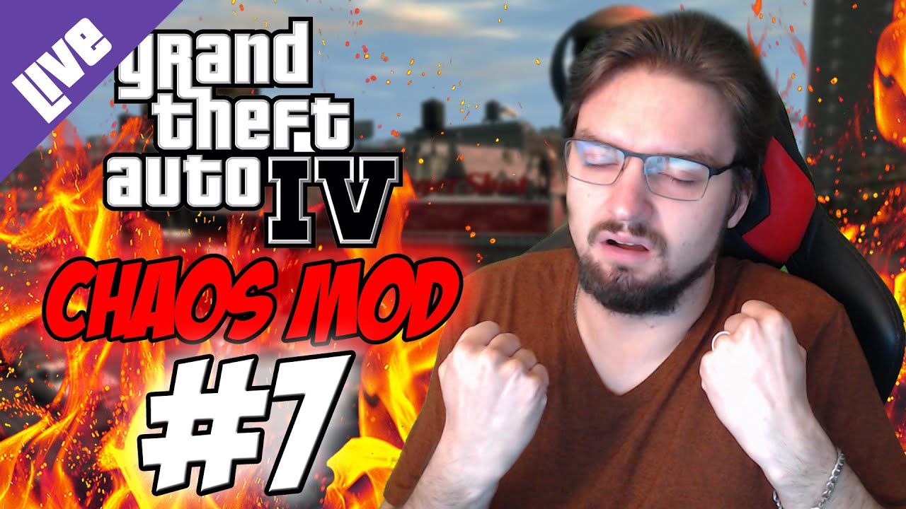 AW SHIT HERE WE GO AGAIN! | Let's Play: GTA IV - Chaos Mod + Voting! [DE] | #7