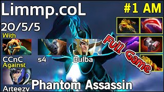 Limmp coL Phantom Assassin - Dota 2 Full Game 7.17