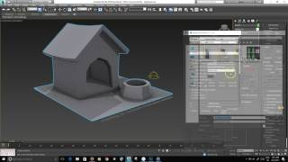 Ambient Occlusion Render to Texture 3ds Max