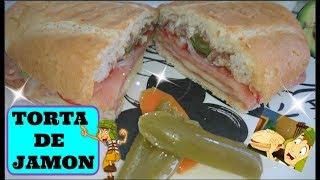 Torta de jamon con queso del chavo del 8 #elvideofacilito