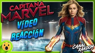 CAPITANA MARVEL TRAILER VIDEO REACCIÓN