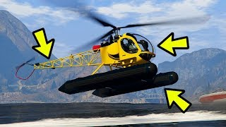 15 THINGS YOU NEED TO KNOW ABOUT THE NEW SEA SPARROW IN GTA 5 ONLINE (GTA 5 Tips, Tricks & Secrets)