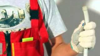 Самостоятельный монтаж электрического теплого пола(Видеоинструкция по самостоятельному монтажу электрического теплого пола на основе двухжильных нагревате..., 2011-05-19T07:43:39.000Z)