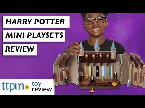Harry Potter Collectible Mini Set Reviews From Jakks Pacific