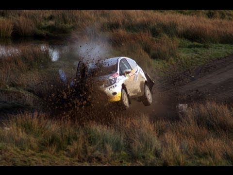 WRC Wales Rally GB CRASH 2011  SS16       ( should have been STOPPED!!)  Rallying