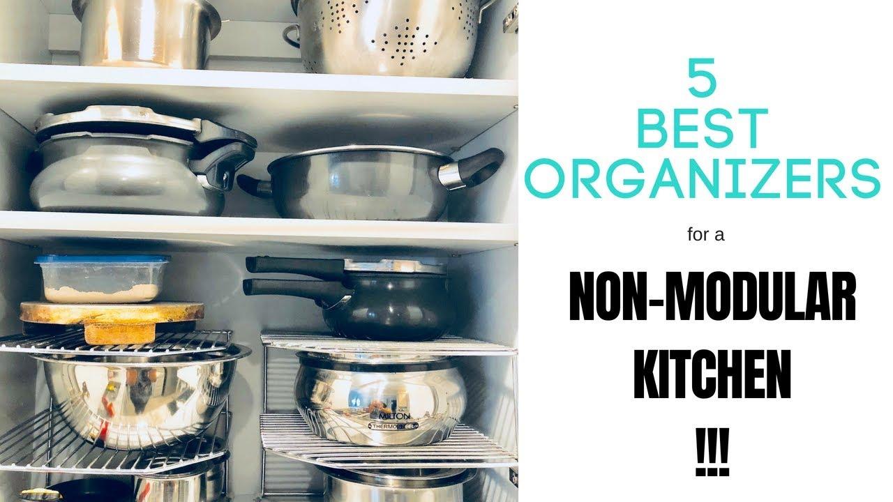 9 Best Organizers For A Non Modular Kitchen   My Favorite Pick