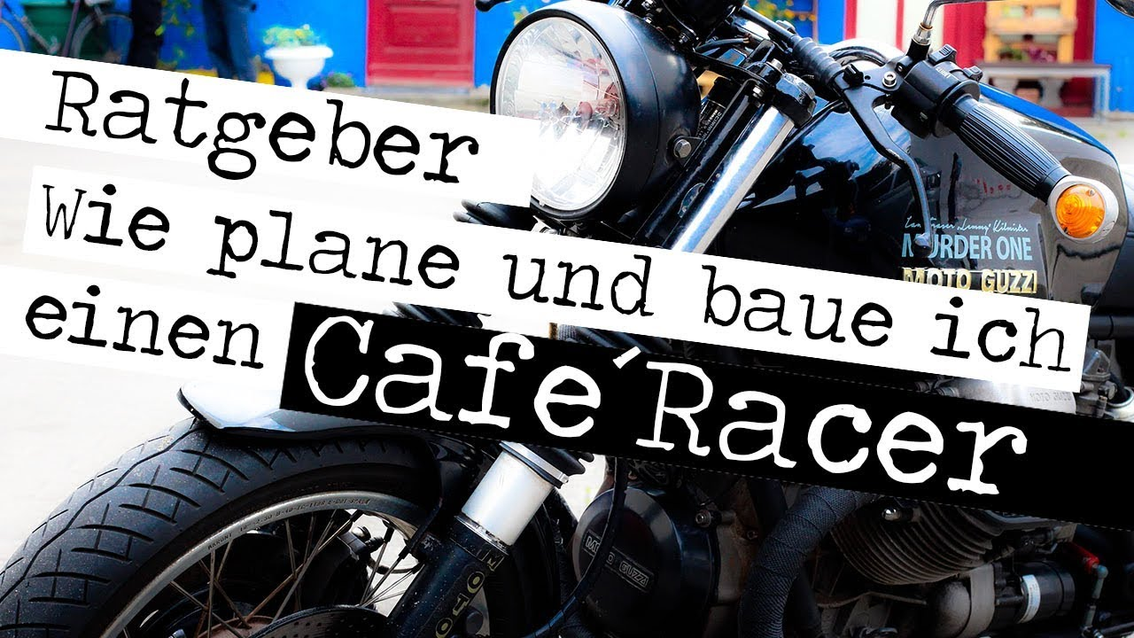 caf racer wie plane und baue ich einen cafe racer youtube. Black Bedroom Furniture Sets. Home Design Ideas