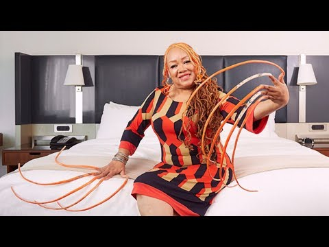Woman With Longest Fingernails In World Has Been Growing Them For 24 Years