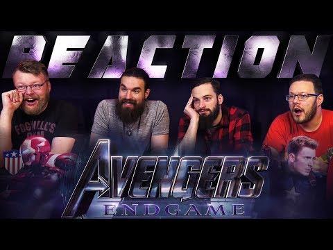 Marvel Studios Avengers: Endgame - Official Trailer REACTION!!