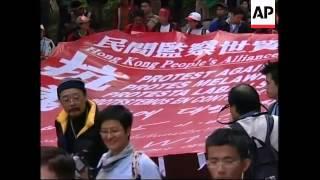 WRAP Summit preps, Mandelson, US trade rep, protestors