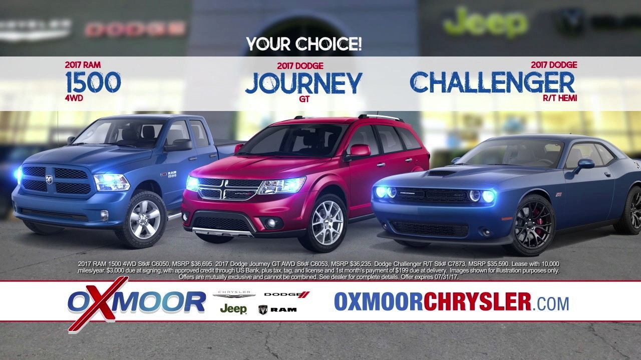 Summer clearance event at oxmoor chrysler dodge jeep ram for M l motors chrysler dodge jeep ram