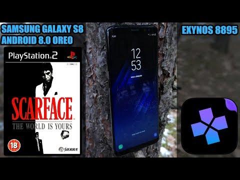 Samsung Galaxy S8 (Exynos, Oreo) - Scarface: The World Is Yours - DamonPS2 Emulator - Test