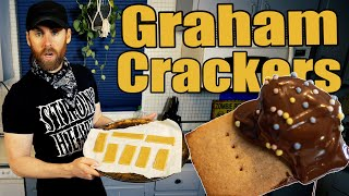 Easy Graham Cracker Recipe & Vegan S'mores