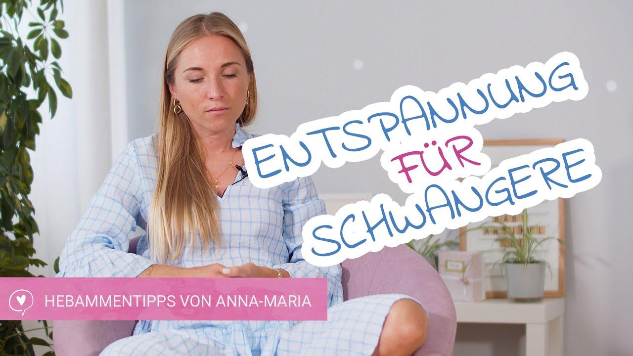Entspannungsvideo für Schwangere mit Hebamme Anna-Maria   babyartikel.de