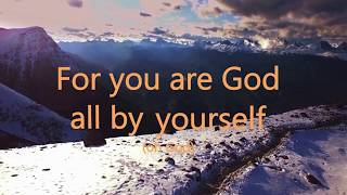 vuclip Eben - God All By Yourself