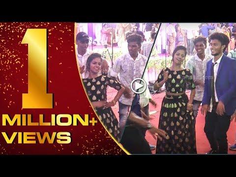 Felina & Mani of #Vijay Tv fame dance at Sandy's reception