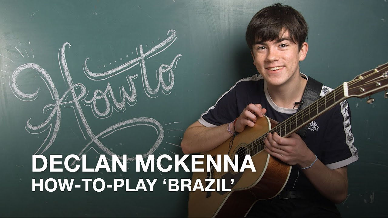 how to play 39 brazil 39 with declan mckenna youtube. Black Bedroom Furniture Sets. Home Design Ideas