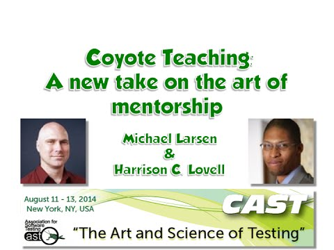 Coyote Teaching: A new take on the art of mentorship