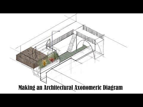 Making an Architectural Axonometric Diagram