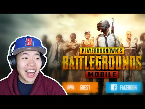 PUBG Mobile is Here! Gameplay & First Impressions. Available on Android. Link in Description.