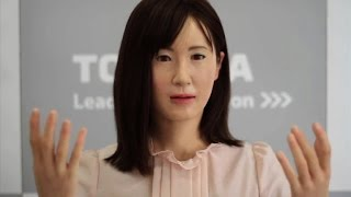 Crave - Meet Aiko Chihira...the first communication android to use sign language, Ep. 178