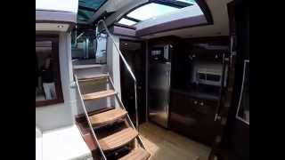 2015 Sea Ray 510 Sundancer Walkthrough For Sale at MarineMax Sarasota