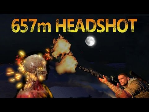 Sniper Elite 3: World Record Headshot? (657m)