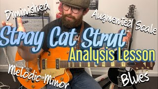 Stray Cat Strut - How Many Scales used in this one song?!