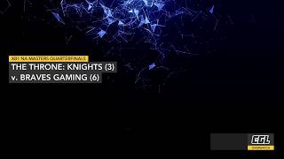 Overwatch MTT Quarterfinals - The Throne: Knights v Braves Gaming