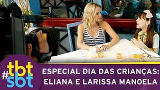 Eliana visita Maria Joaquina e revela bastidores de Carrossel   tbtSBT