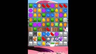 Candy Crush Saga Level 385 iPhone No Boosts