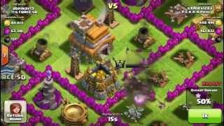 Clash Of Clans - 960K Raid