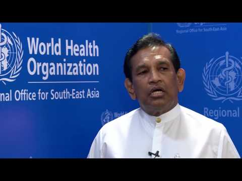 Interview with Dr Senaratne, Minister of Health, Nutrition and Indigenous Medicine