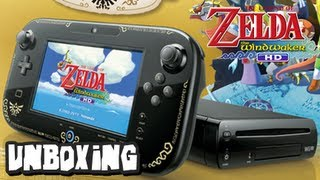 The Legend of Zelda Wind Waker Nintendo Wii U Unboxing
