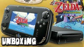 The Legend of Zelda Wind Waker Nintendo Wii U Unboxing