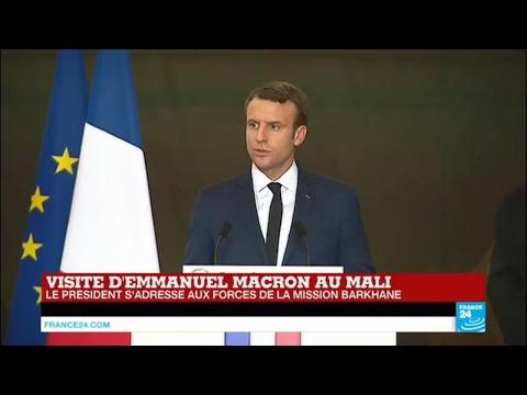 REPLAY - Emmanuel Macron au Mali : Le président auprès des forces de la mission Barkhane