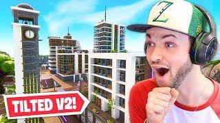 *NEW* Tilted Towers V2 in Fortnite! (SEASON 9)