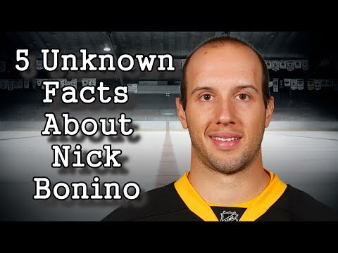 Nick Bonino/Five Facts You Never Knew