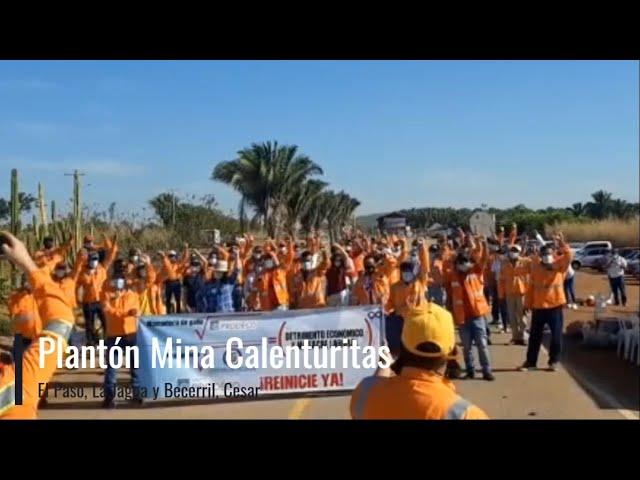 Rechazamos los despidos masivos y exigimos la reactivación de las minas del grupo Prodeco