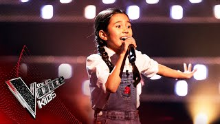 Rachel Performs 'I Want To Be A Cowboy's Sweetheart' | Blind Auditions | The Voice Kids UK 2020