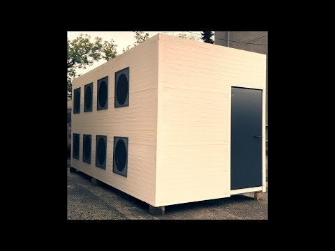 Mining Container 260kW Movable Data Centre, Crypto Mining, Server Container, Ethereum, Blockchain