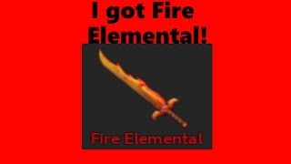 (ROBLOX) ASSASSIN! WE GOT FIRE ELEMENTAL! Roblox funny moments!