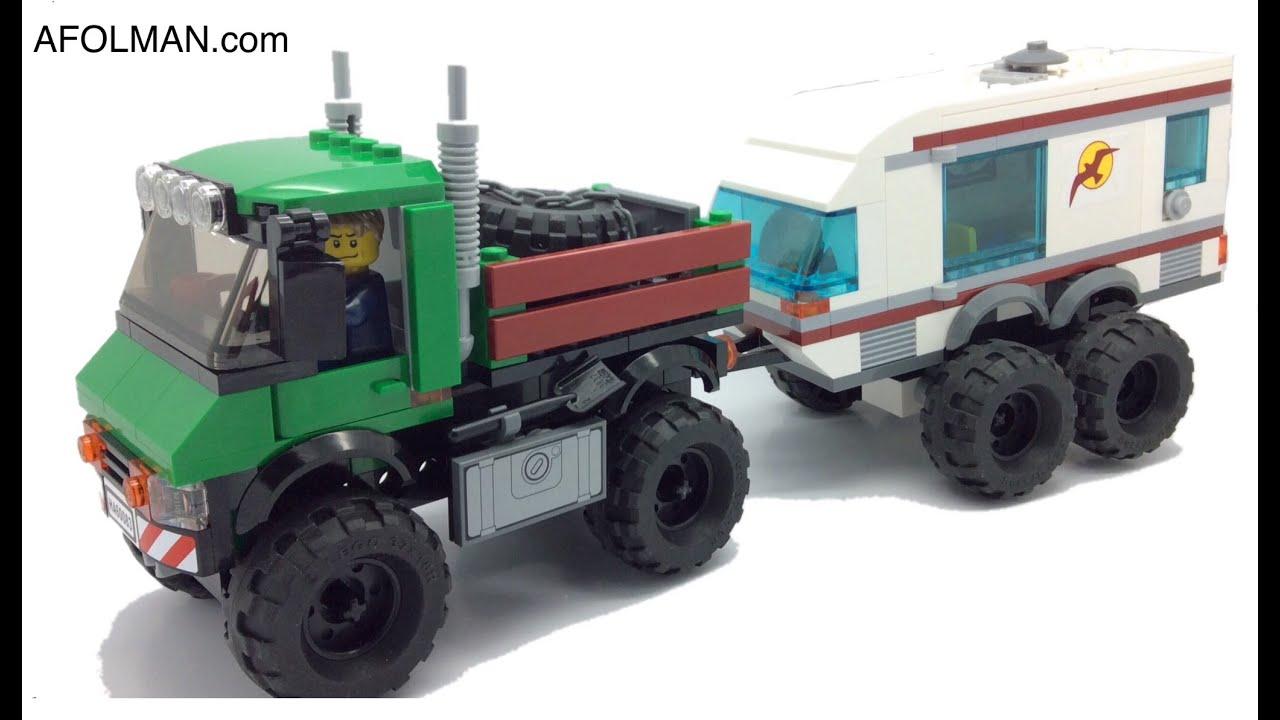 Lego Moc Mod Mercedes Unimog Extreme Youtube