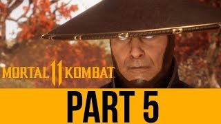 MORTAL KOMBAT 11 STORY Gameplay Walkthrough Part 5 - Chapter 9 & 10 (Full Game) MK11