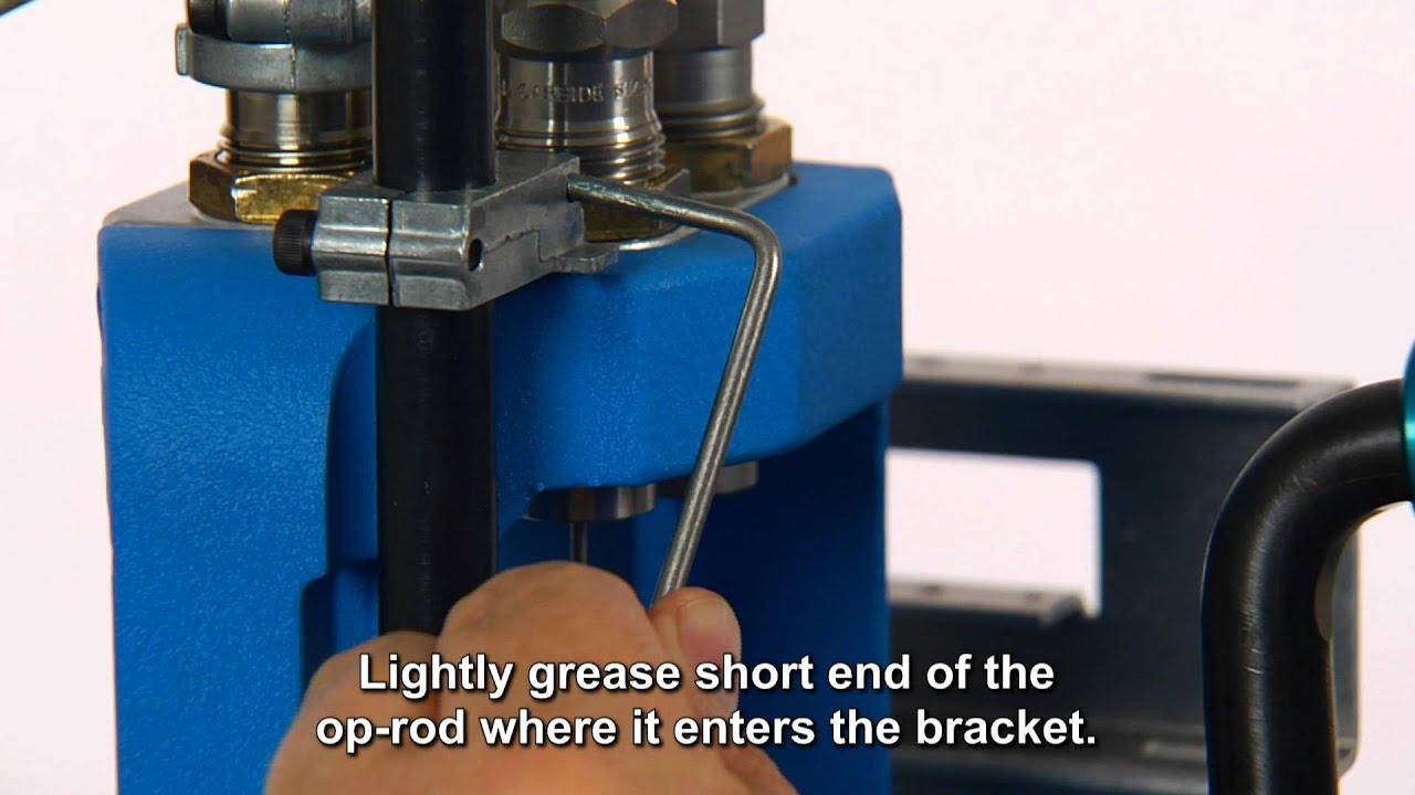 Lubricating the Dillon Precision RL550B