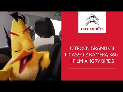 Citroën Grand C4 Picasso z kamerą 360° | Film Angry Birds