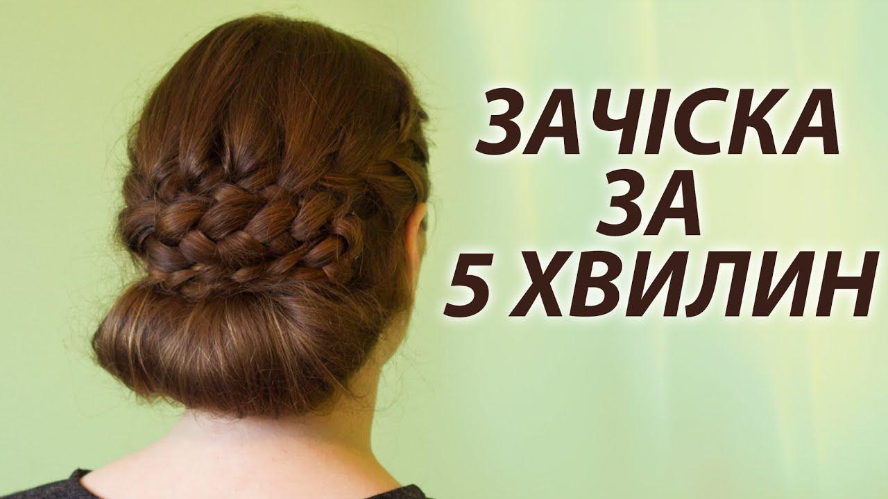 Прически на каждый день на средние, длинные волосы своими ...