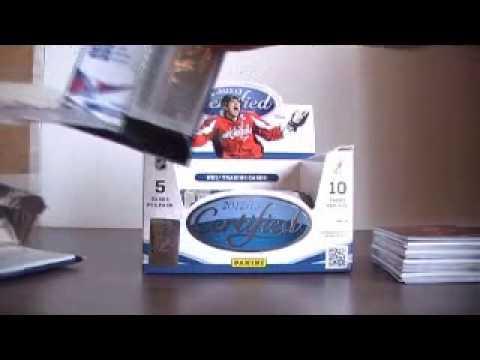SportsCardForum.com Live Break: 2012/13 Panini Certified Hockey Hobby Box