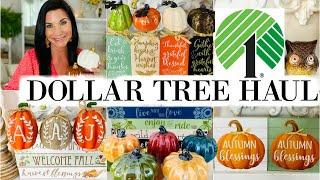 "DOLLAR TREE HAUL ((NEW)) FALL FINDS!! 🍁 ""I Love Fall"" ep 1 Olivia's Romantic Home DIY"
